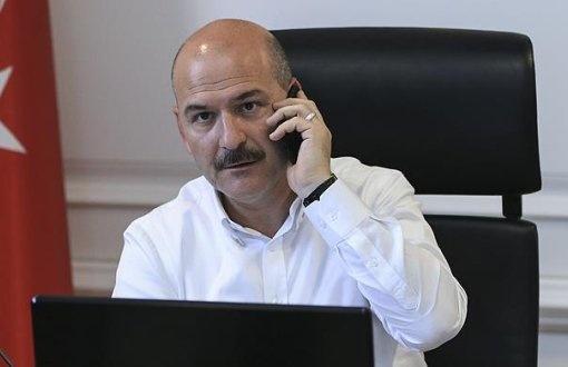 Süleyman Soylu  3.2 milyon takipçi