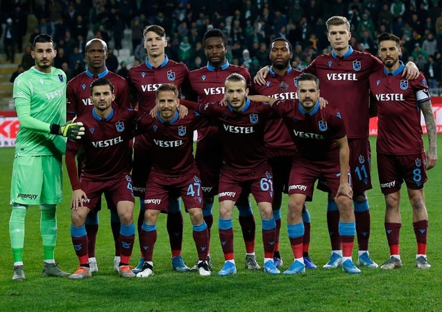Transfermarkt verilerine göre Trabzonsporlu futbolcuların değerleri;