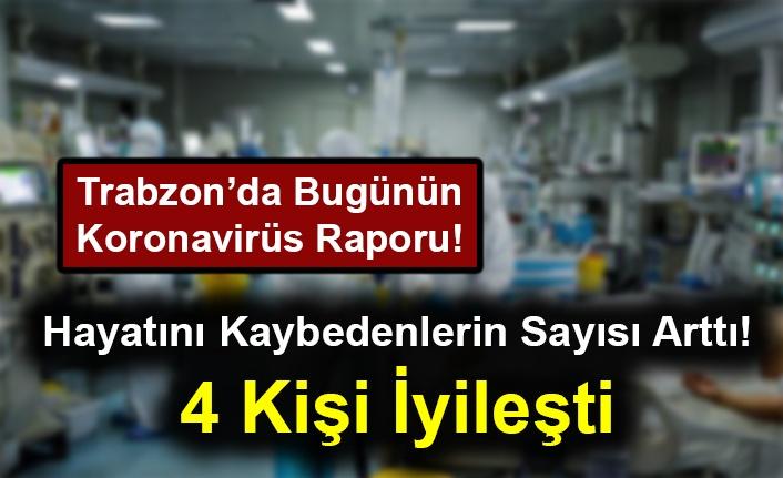 Trabzon'da Bugünün Koronavirüs Raporu! Vaka Sayısı ve Hayatını Kaybedenlerin Sayısı Arttı!