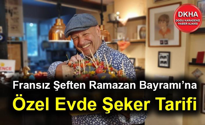 Fransız Şeften Ramazan Bayramı'na Özel Evde Şeker Tarifi