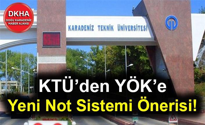 KTÜ'den YÖK'e Yeni Not Sistemi Önerisi!