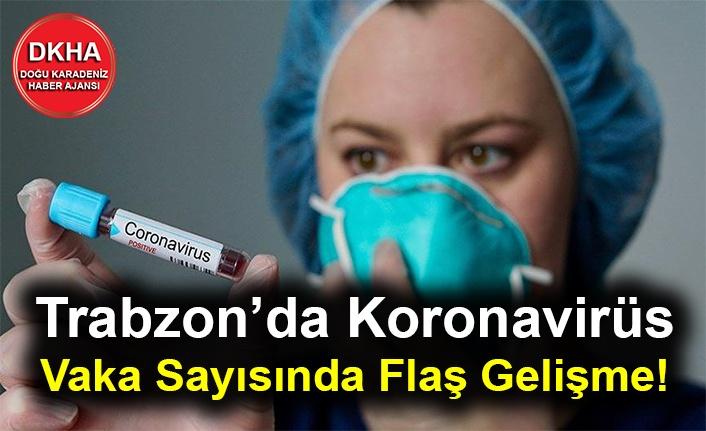Trabzon'da Koronavirüs Vaka Sayısında Flaş Gelişme!