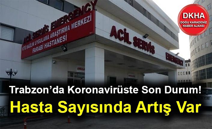 Trabzon'da Koronavirüste Son Durum! Hasta Sayısında Artış Var