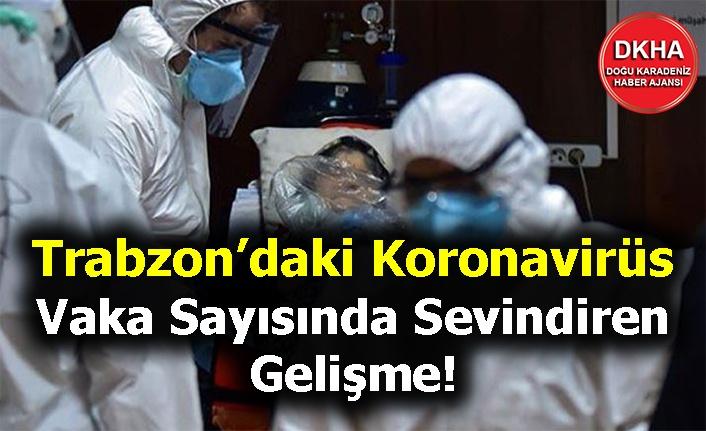 Trabzon'daki Koronavirüs Vaka Sayısında Sevindiren Gelişme!