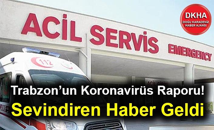 Trabzon'un Koronavirüs Raporu! Sevindiren Haber Geldi