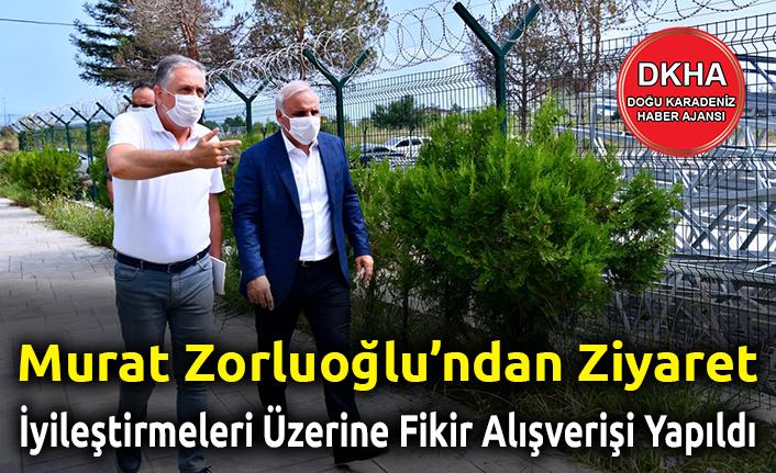 MuratZorluoğluÇoruhEdaş'ıZiyaret Etti