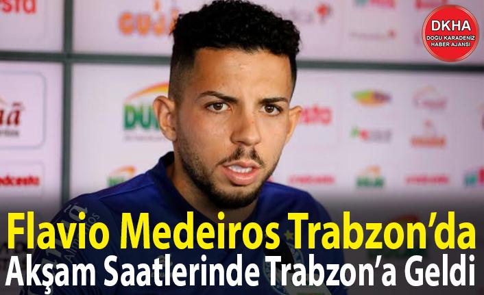 Flavio Medeiros Trabzon'da