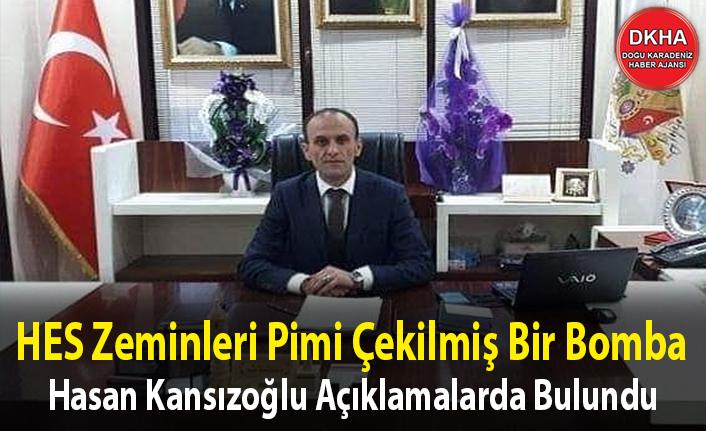 Hasan Kansızoğlu Açıklamalarda Bulundu