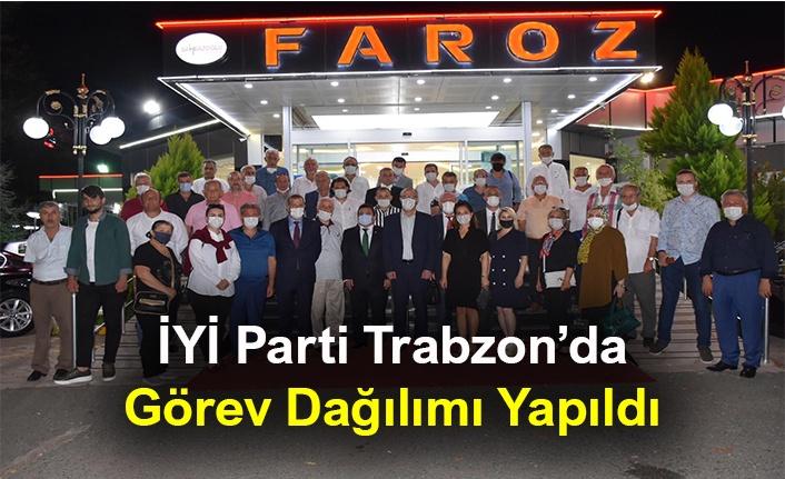 İYİ Parti Trabzon İl Başkanlığı Divan Kurulunda Görev Dağılımı Yapıldı