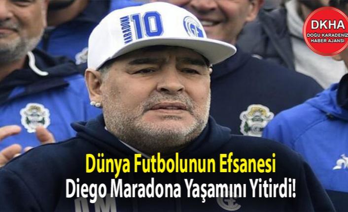 Dünya Futbolunun Efsanesi Diego Maradona Yaşamını Yitirdi!