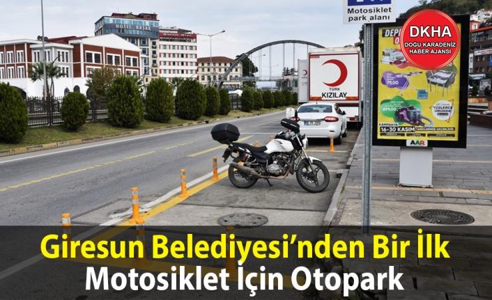 Motosiklet İçin Otopark