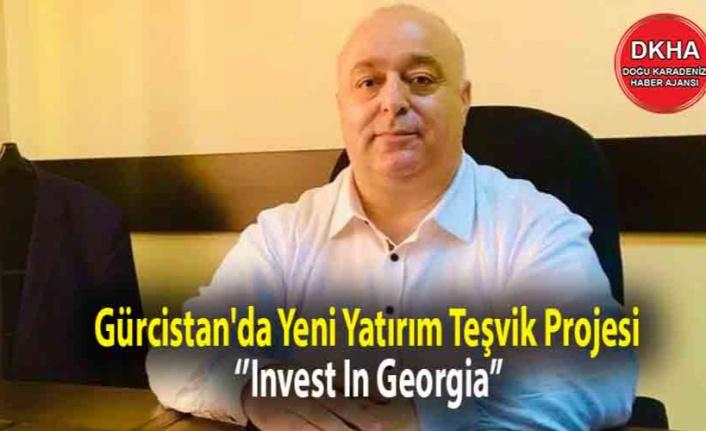 Gürcistan'da Yeni Yatırım Teşvik Projesi ''Invest In Georgia''