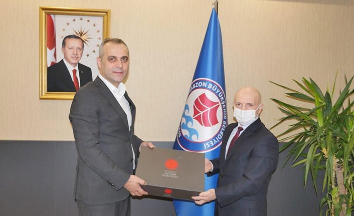 Bölge Müdürü Kaşıkçı'dan Trabzon Büyükşehir Belediyesi Genel Sekreterine Ziyaret