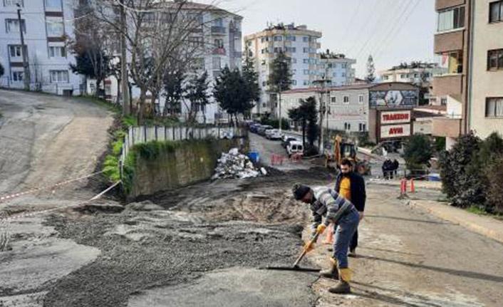 Trabzon Büyükşehir Belediyesi Yasak Günlerinde Çalışıyor