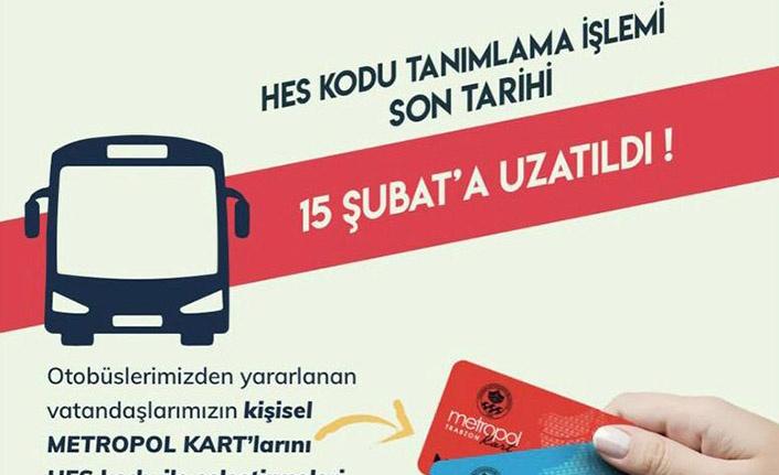 Trabzon Kart'a Hes Kodu Tanımlama Süresi Uzatıldı
