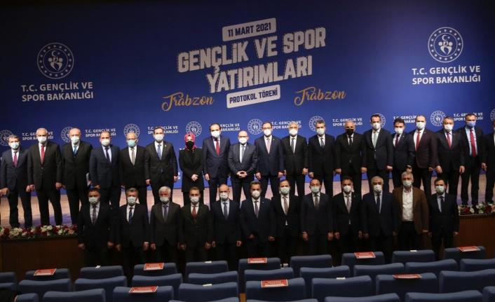 Gençlik ve Spor Bakanlığı'nın Trabzon'a Yapacağı Yatırımlarla İlgili Protokol Gerçekleştirildi