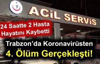 Trabzon'da Koronavirüsten 4. Ölüm Gerçekleşti!