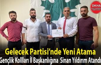 Gelecek Partisi Trabzon İl Gençlik Kolları Başkanı Atandı