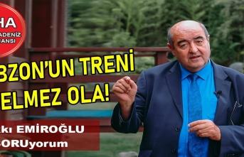 Trabzon'un Treni Gelmez Ola!