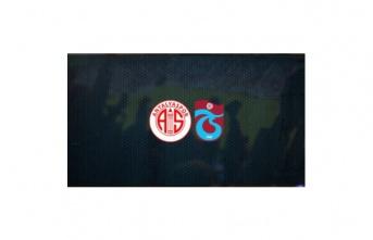 Trabzonspor 1 - 1 Antalyaspor