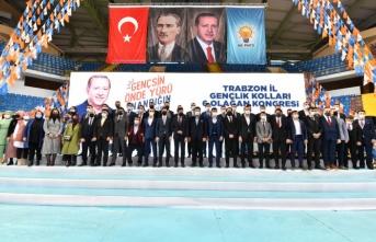 AK Parti Trabzon İl Gençlik Kolları 6.Olağan Kongresi Yapıldı