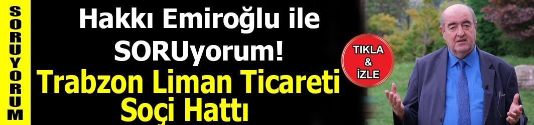 Trabzon Liman Ticareti - Soçi Hattı