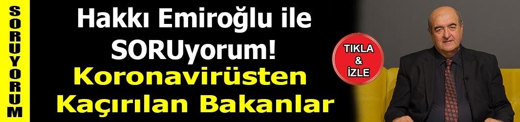 Koronavirüsten Kaçırılan Bakanlar-Trabzon Şehir Hastanesi-DKHA