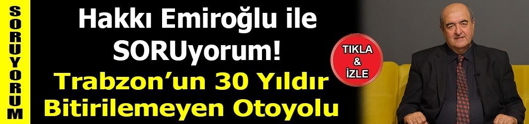 Trabzon'un 30 Yıldır Bitirilemeyen Otoyolu-Araklı Bayburt Yolu-DKHA