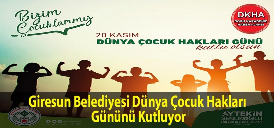 Başkan Şenlikoğlu'nun Dünya Çocuk Hakları Günü Mesajı