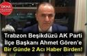 Trabzon Beşikdüzü AK Parti İlçe Başkanı Ahmet...