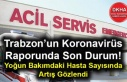Trabzon'un Koronavirüs Raporunda Son Durum! Yoğun...