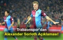 Trabzonspor'dan Alexander Sorloth Açıklaması!