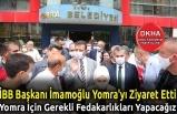 İBB Başkanı İmamoğlu Yomra'yı Ziyaret Etti