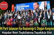 AK Parti Şalpazarı İlçe Başkanlığı 6. Olağan Kongresi