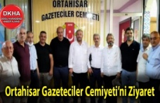 Ortahisar Gazeteciler Cemiyetini Ziyaret