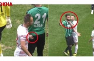 Hekimoğlu Trabzon Futbolcusuna Saygısız Hareket!