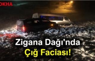 Trabzon Gümüşhane arası Zigana Dağı'nda...