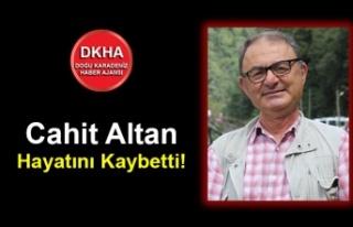 Cahit Altan Hayatını Kaybetti!
