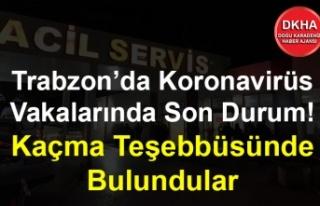 Trabzon'da Koronavirüs Vakalarında Son Durum!...