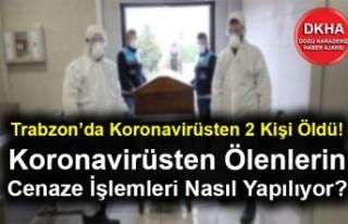 Trabzon'da Koronavirüsten 2 Kişi Öldü! Koronavirüsten...