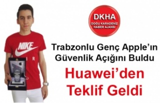 Trabzonlu Genç Apple'ın Güvenlik Açığını...