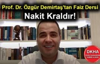 Prof. Dr. Özgür Demirtaş'tan Faiz Dersi -...