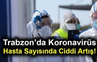 Trabzon'da Koronavirüs Hasta Sayısında Ciddi...