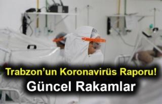 Trabzon'un Koronavirüs Raporu! Son Durum