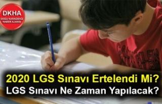 2020 LGS Sınavı Ertelendi Mi? LGS Sınavı Ne Zaman...