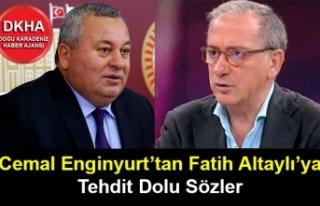 Cemal Enginyurt'tan Fatih Altaylı'ya Tehdit Dolu...