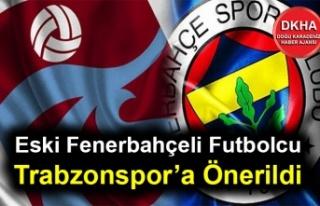 Eski Fenerbahçeli Futbolcu Trabzonspor'a Önerildi