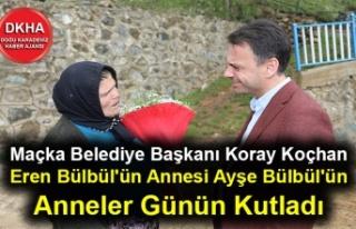 Maçka Belediye Başkanı Koray Koçhan Eren Bülbül'ün...