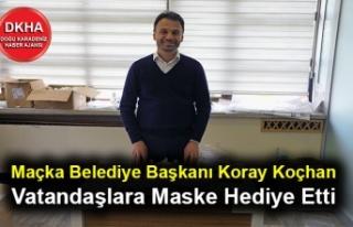 Maçka Belediye Başkanı Koray Koçhan Vatandaşlara...