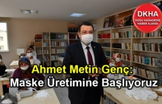 Ortahisar Belediyesi Maske Üretimine Başlıyor
